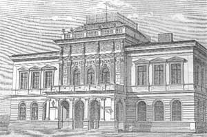 Hankův Dům po slavnostním otevření v roce 1874