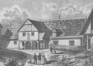 Rodný dům Václava Hanky v Hoříněvsi